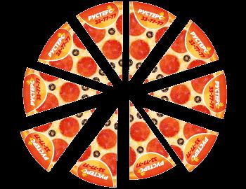 Магнитный пазл пицца